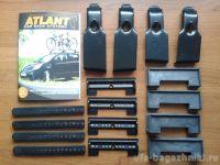 Адаптеры для багажника Mazda CX5 (5-dr SUV) 17-..., гладкая крыша, Атлант, артикул 7230