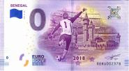 ЧМ по футболу в России 0 евро 2018 г. СЕНЕГАЛ UNC