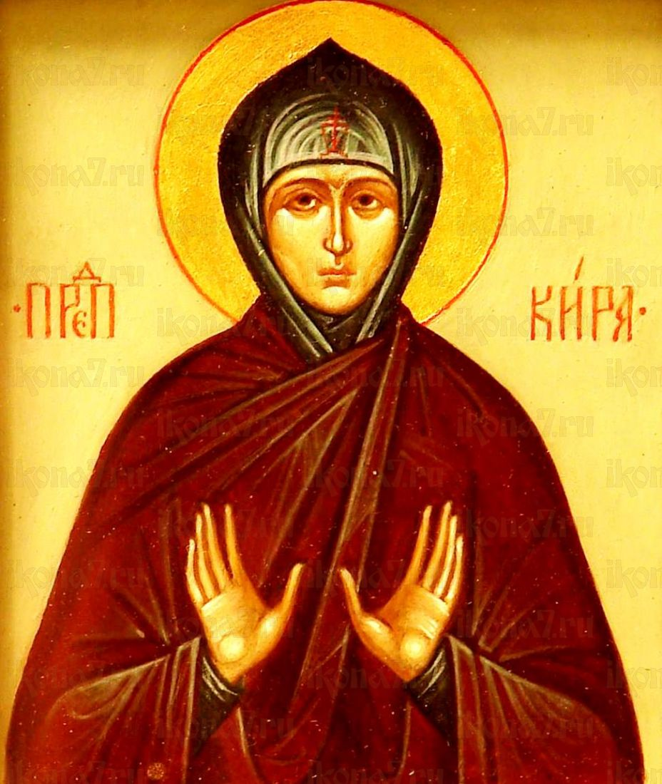 Кира Берийская (копия старинной иконы)