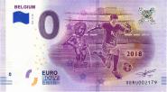 ЧМ по футболу в России 0 евро 2018 г. БЕЛЬГИЯ UNC