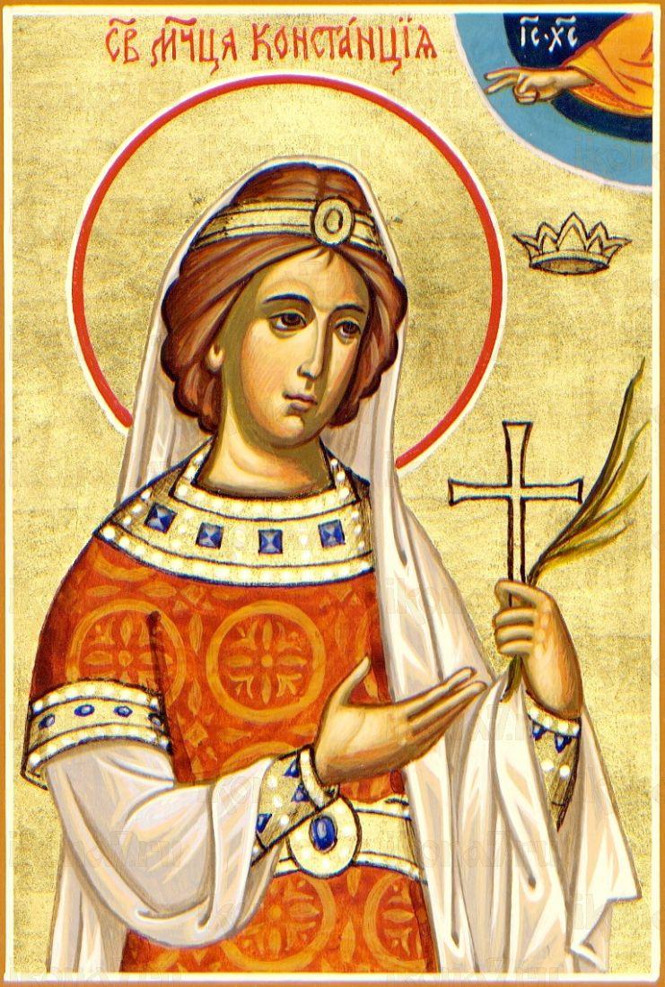 Констанция Римская (копия старинной иконы)