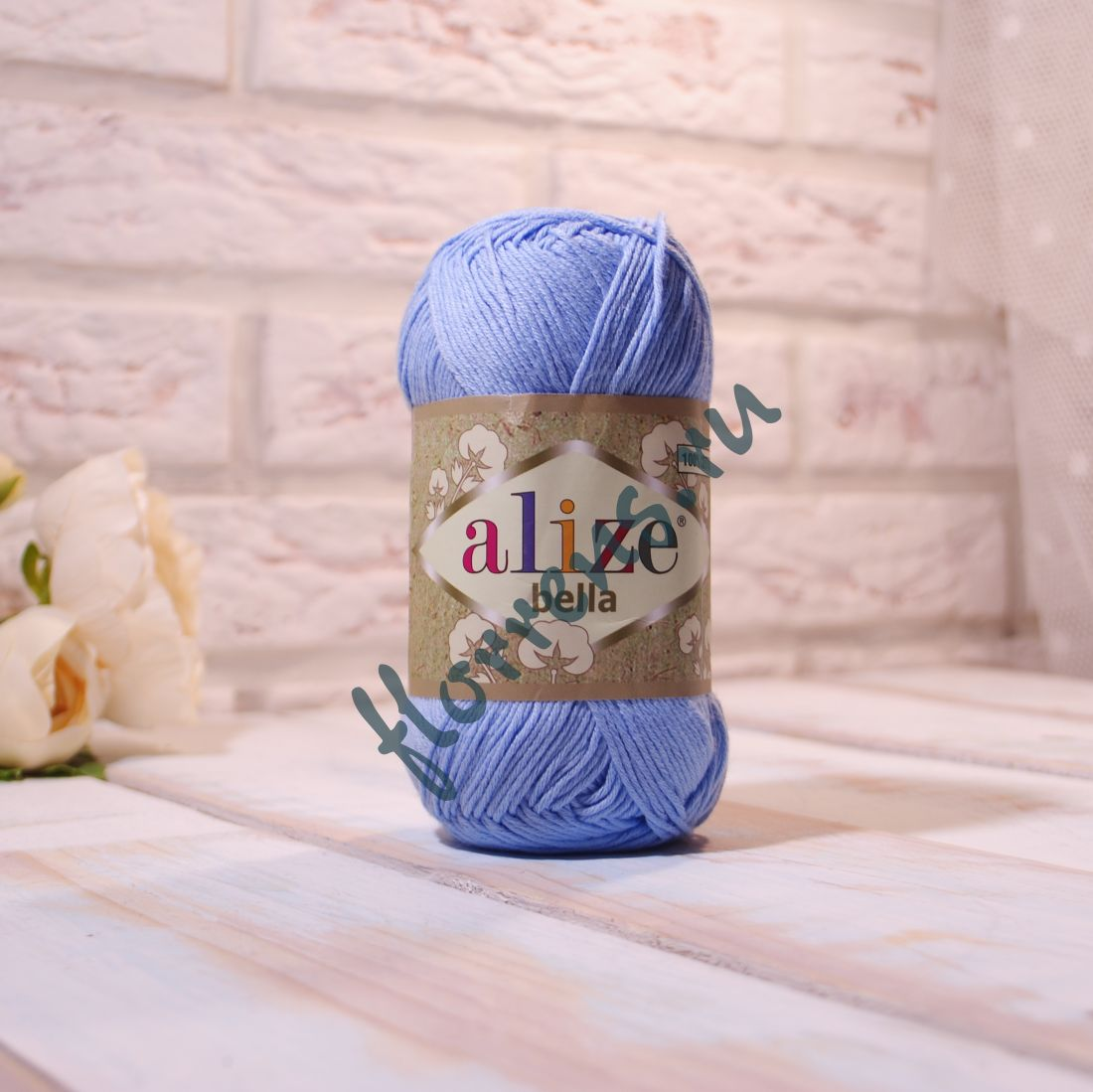 """Пряжа """"Alize"""" Bella / 40 голубой"""