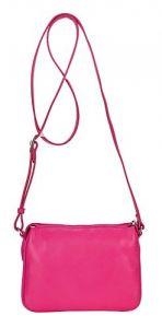 Сумка кросс-боди розового цвета