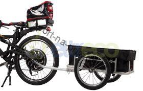 Грузовой велоприцеп с тентом VIC-1304