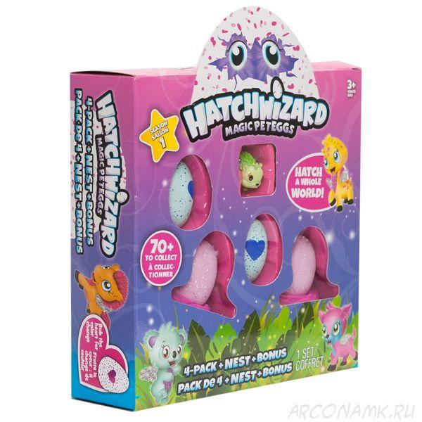 Яйцо-сюрприз Hatchwizard,набор из 5 игрушек