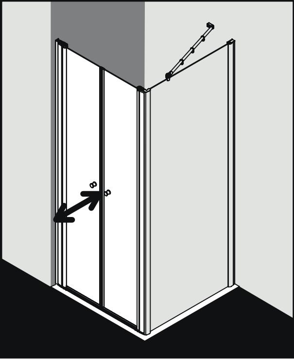 Душевая кабина Kermi Atea угловая или пристенная AT PTD ФОТО