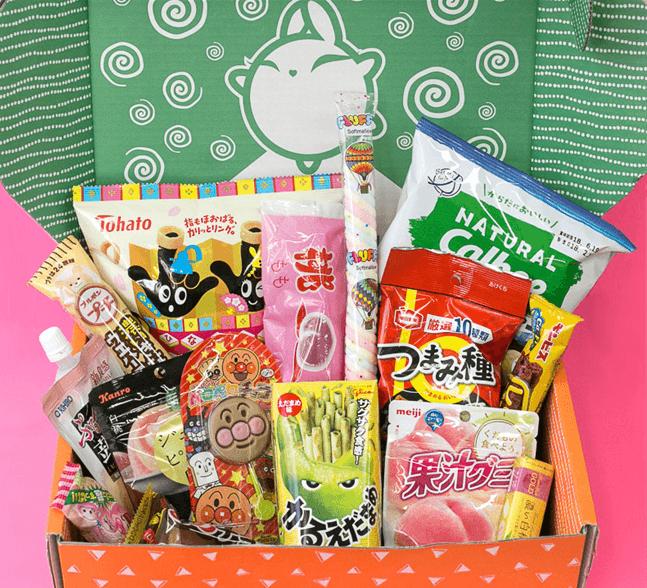 Японские сладости - набор из 16 товаров