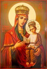 Споручница грешных икона Божией Матери