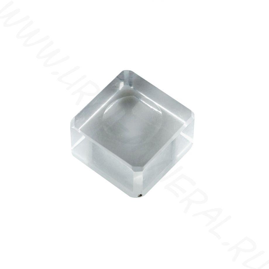 Подставка под шар пластиковая (квадратная)