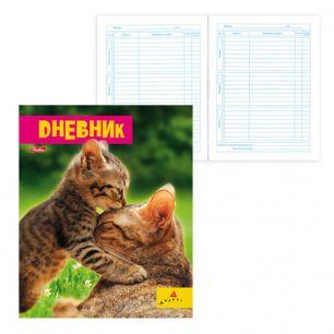 """Дневник для 1-11 классов, интегральный, ламинированная обложка, """"Милашки-(AVANTI)"""", 40ДL5В 15959, D232811"""