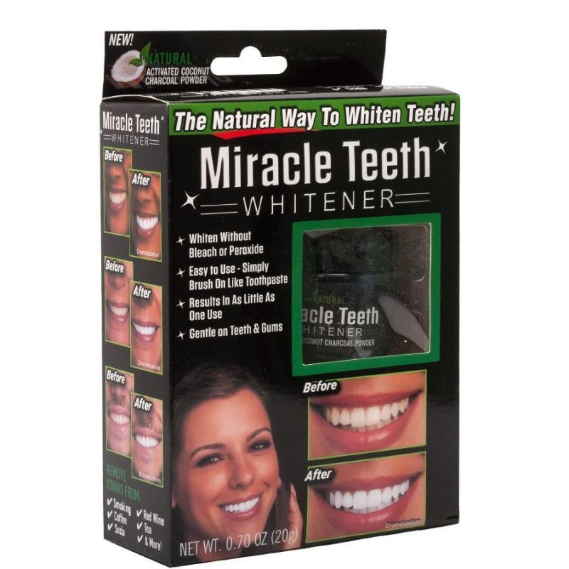 Отбеливатель зубов MIRACLE TEETH WHITENER