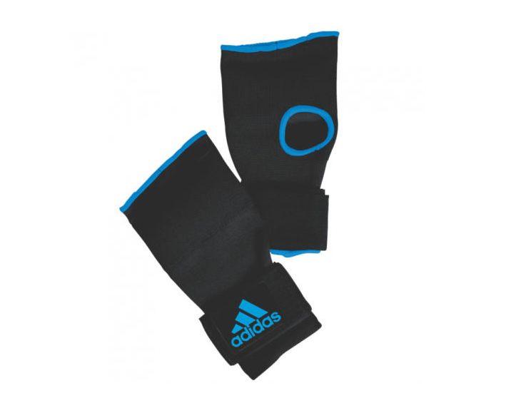Внутренние перчатки Adidas Super Inner Gloves Gel Knuckle черно-синие р. S. артикул adiBP021