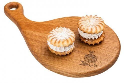 ..Печенье Лолита 1кг сдобное с зефирной прослойкой Каролина