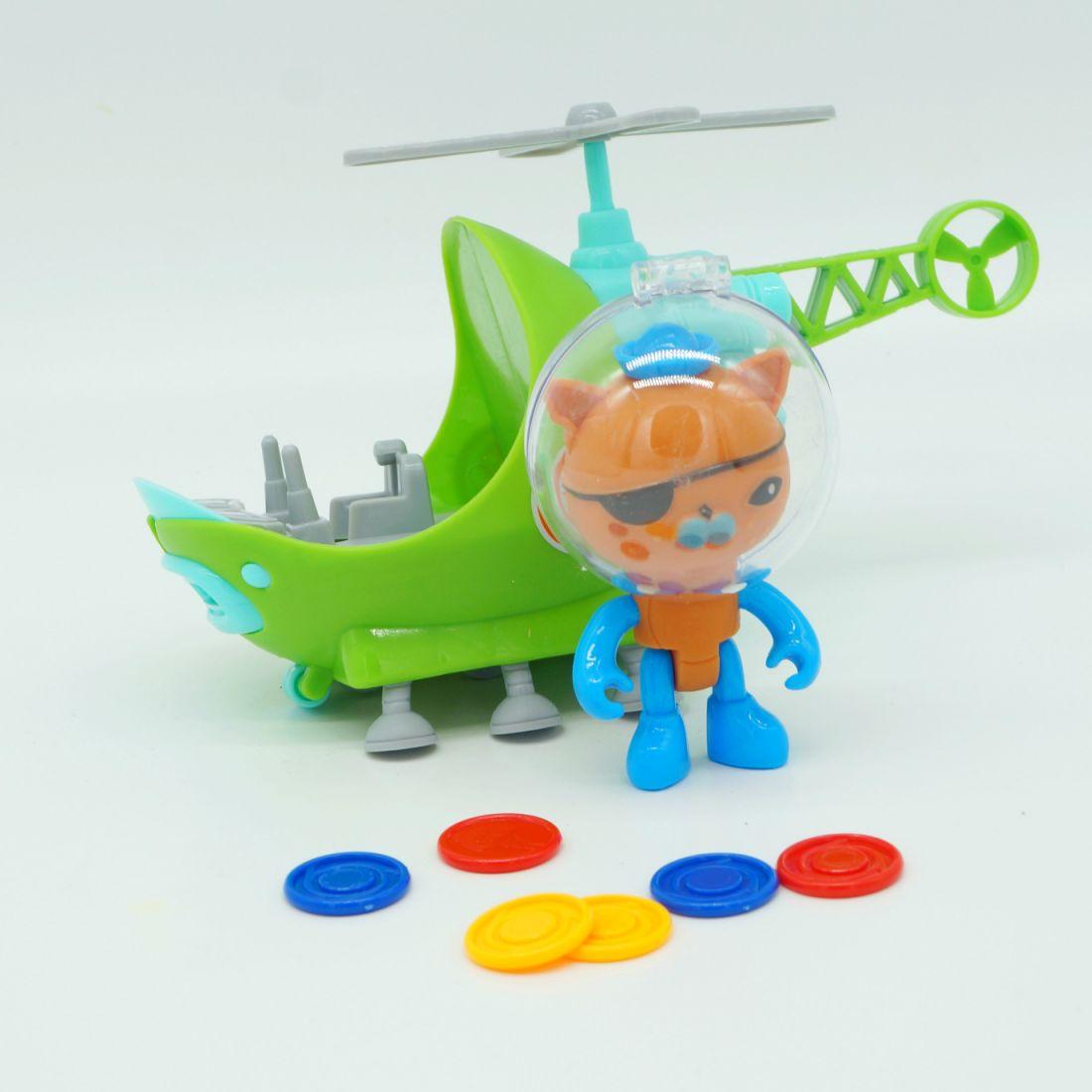 Игровой набор «Октонавты: Квази и вертолет