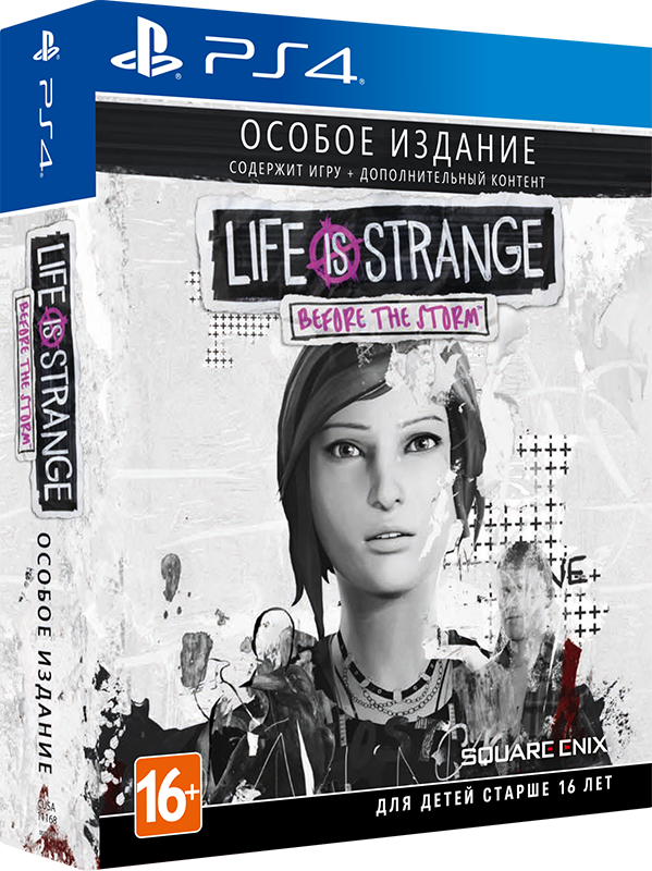Игра Life is Strange : Before The Storm. Limited Edition (PS4)