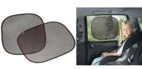 Солнцезащитные шторки для автомобиля на боковые стекла