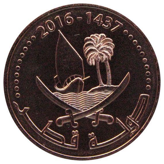 Катар 5 дирхам 2016 г.