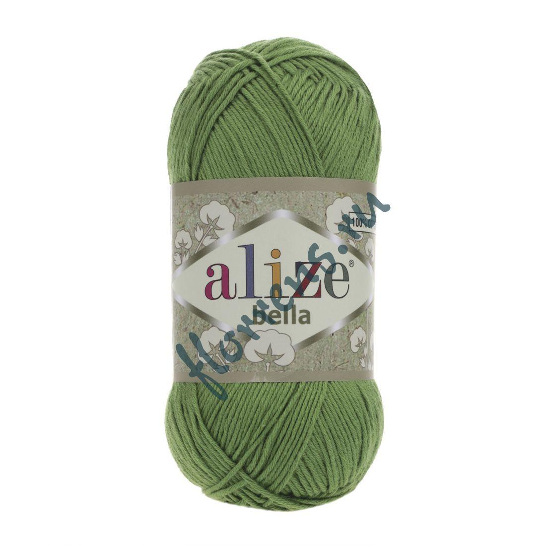 """Пряжа """"Alize"""" Bella / 492 зеленый"""