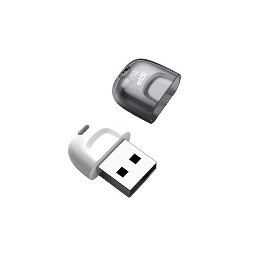 USB накопитель Silicon Power 16GB Touch T09 White