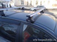 Багажник на крышу Chery Fora / Vortex Estina, Атлант, крыловидные дуги