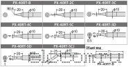 goot PX-401, паяльник с регулятором температуры; Раб. t=250-450°С (керамический нагреватель)  220В, 70Вт