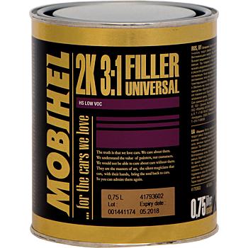 MOBIHEL 2К грунт 3:1 универсальный LOW VOC, 750мл.