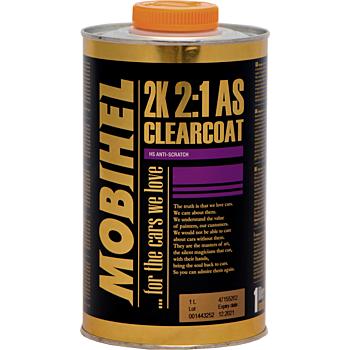 MOBIHEL 2К акриловый бесцветный лак anti-scratch, 500мл.