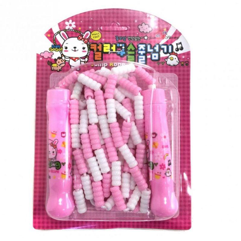 Детская Скакалка С Регулируемой Длиной Jump Rope, Цвет Розовый