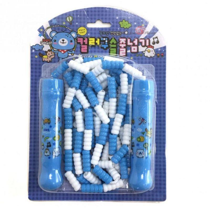 Детская Скакалка С Регулируемой Длиной Jump Rope, Цвет Голубой
