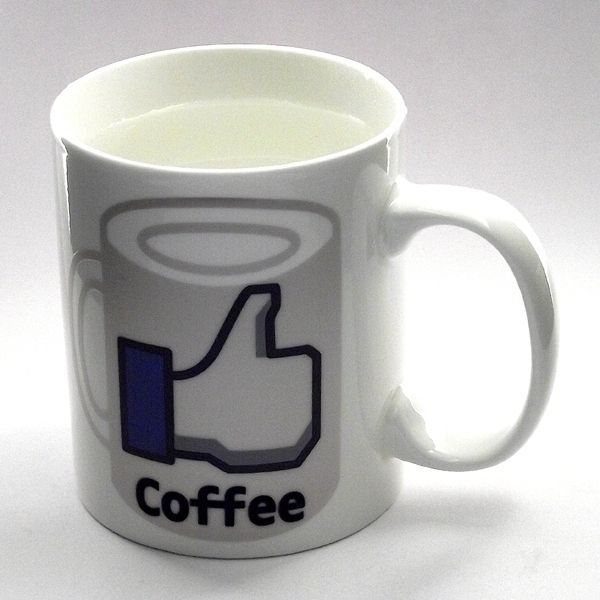 Кружка хамелеон Coffe/Like