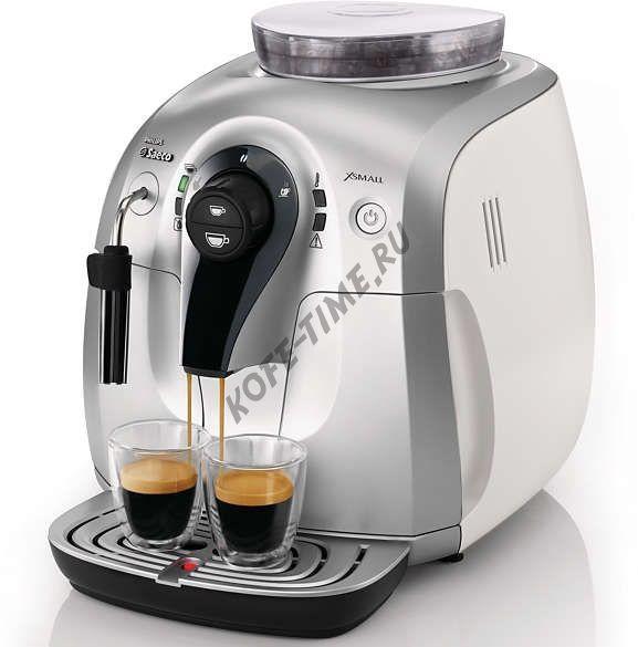 Кофемашина Saeco HD 8745 Xsmall White