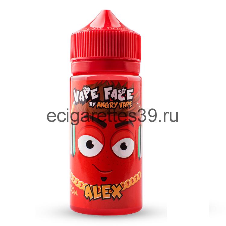 Жидкость Vape Face Alex, 100 мл.