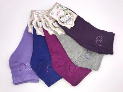 Женские укороченные носки Бамбук р-р 36-42