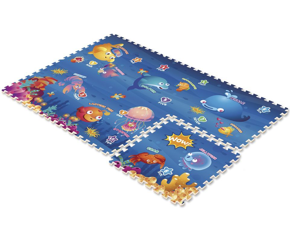Mambobaby Дет.развивающий коврик-пазл Океан, 70003