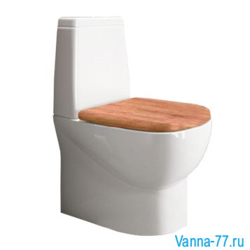 УНИТАЗ-КОМПАКТ SANITA LUXE INFINITY COLOR WOOD SL-01