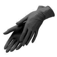 Перчатки одноразовые для мастера нитриловые размер L, 100 шт