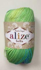 Bella  Batik (ALIZE) 4150-зел/голуб/синий