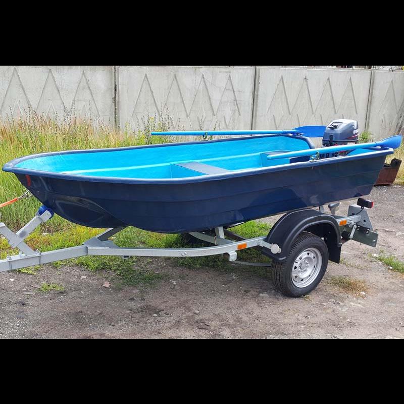 Лодка стеклопластиковая Neman-340 (тримаран)