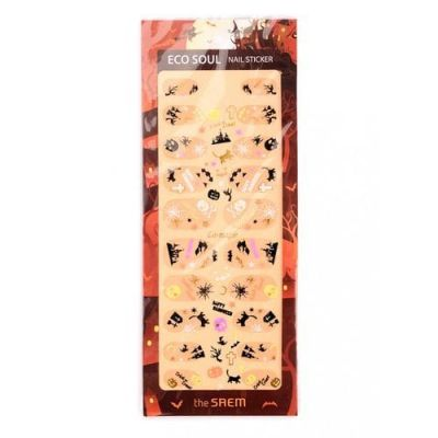 The SAEM Nail Наклейки для ногтей Eco Soul Nail Sticker - 01 Castle of the Witch
