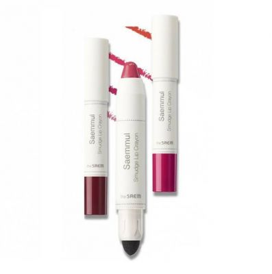 Карандаш-помада для губ The SAEM Saemmul Smudge Lip Crayon 3,5гр