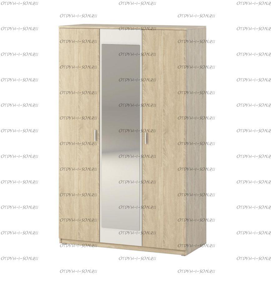 Шкаф 3-дверный Монморанси мод.1403.М2 (180х60х217)