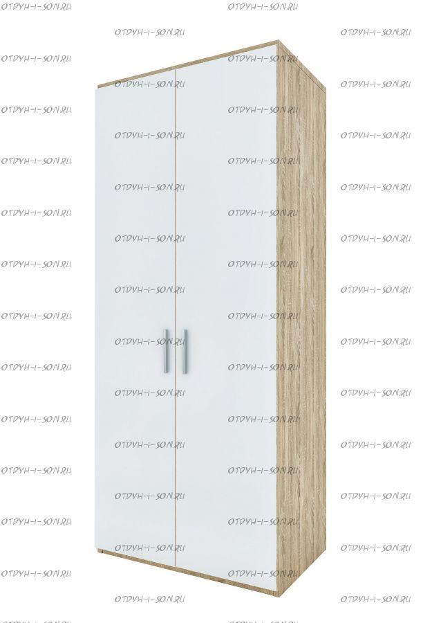 Шкаф 2-дверный Монморанси мод.1407.М2 или мод.1408.М2 (90х60х217)