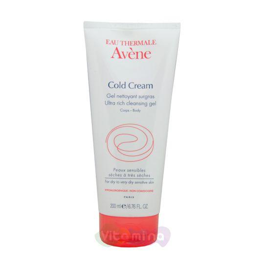 Avene Ultra rich cleansing gel Очищающий гель с колд-кремом