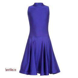 Платье для танцев, синее
