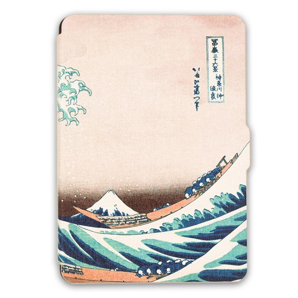 Чехол-обложка  для Amazon Kindle Paperwhite (Волна)