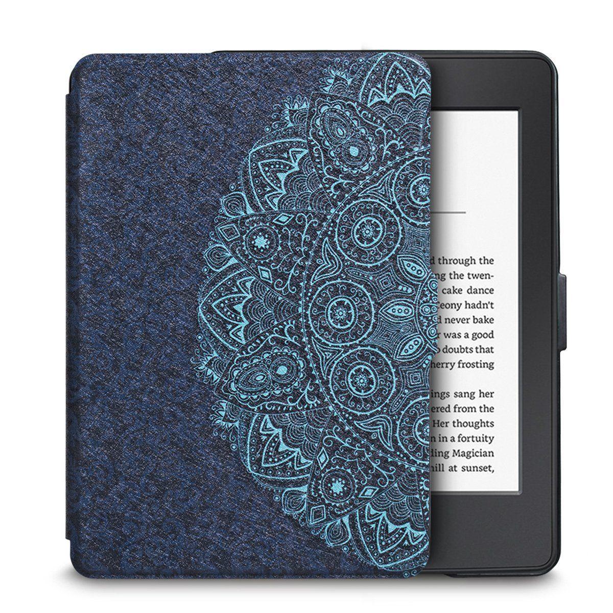 Чехол-обложка  для Amazon Kindle Paperwhite (Мандала)