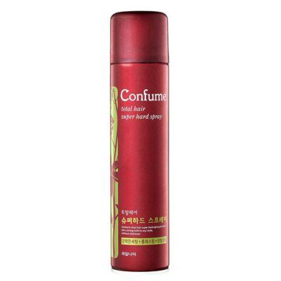 Лак для волос суперсильной фиксации Welcos Confume Total Hair Superhard Spray 300мл