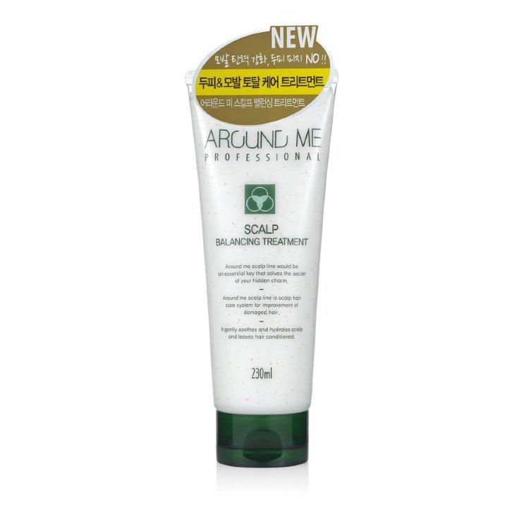 Кондиционер для волос и кожи головы с эфирными маслами Welcos Around Me Scalp Balancing Treatment 230мл