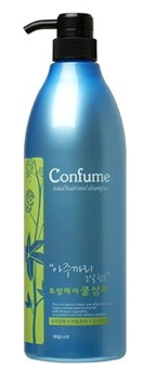 Шампунь для волос c экстрактом мяты Welcos Confume Total Hair Cool Shampoo 950мл