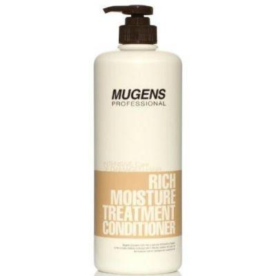 Кондиционер для волос увлажняющий Welcos Mugens Rich Moisture Treatment Conditioner 1000g